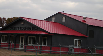 Culpitt Roofing Incorporated: Commercial Double-lock standing seam metal roofing, serving Wisconsin, Minnesota, Northern Illinois, Iowa.